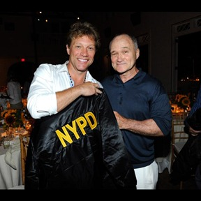 Jon Bon Jovi and New York City Police Commissioner Raymond Kelly attend 2011 Apollo in the Hamptons