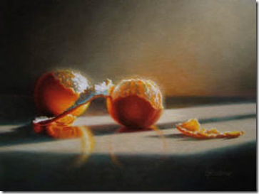 Suzanne Hughes Sullivan, Luminescent Oranges