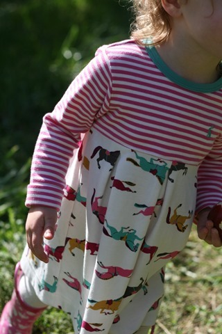 Joules Baby Girl Horse Dress