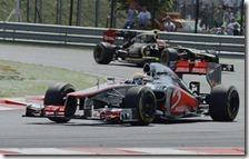 Hamilton vince il gran premio d'Ungheria 2012