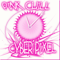Pink Chill Clock icon