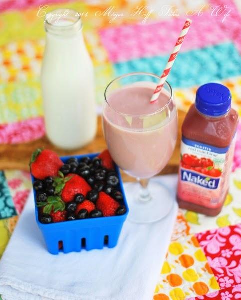 Gluten free naked juice smoothie