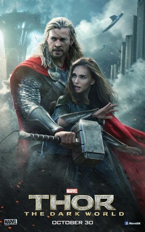 Két sötét poszter a Thor Sötét világhoz 01