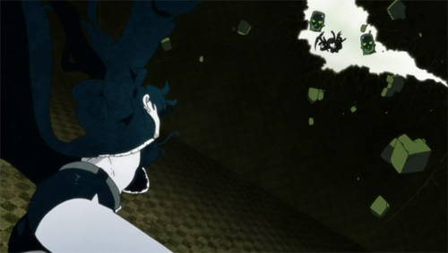 Black Rock Shooter Anime screenshot