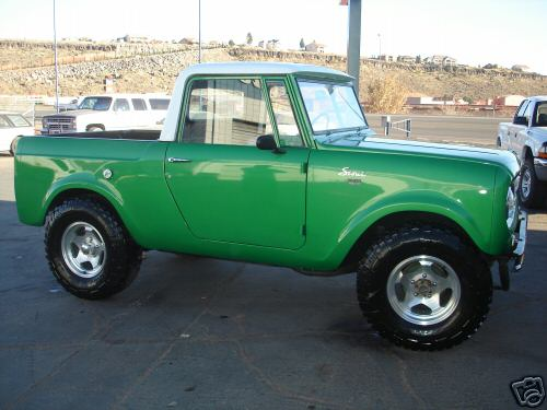Nice Half Cab International Harvester Scout