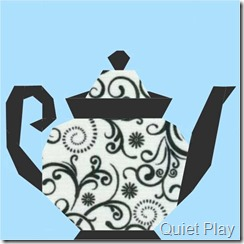 9Teapot Paper Pieced Pattern