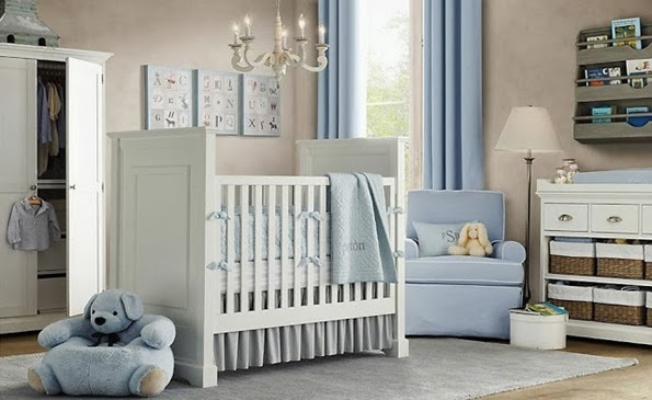 White-and-Blue-Nursery-Design-For-The-Baby-Boys