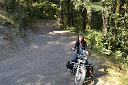 Pe motocicleta in India