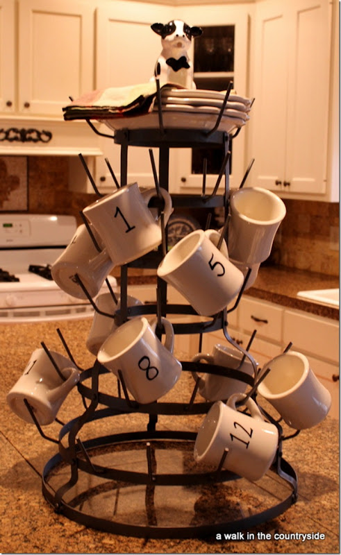 Pottery Barn Mug Tree