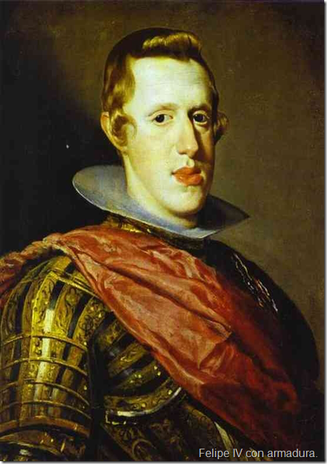Felipe IV con armadura.