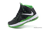 lbj10 fake colorway black green 1 05 Fake LeBron X
