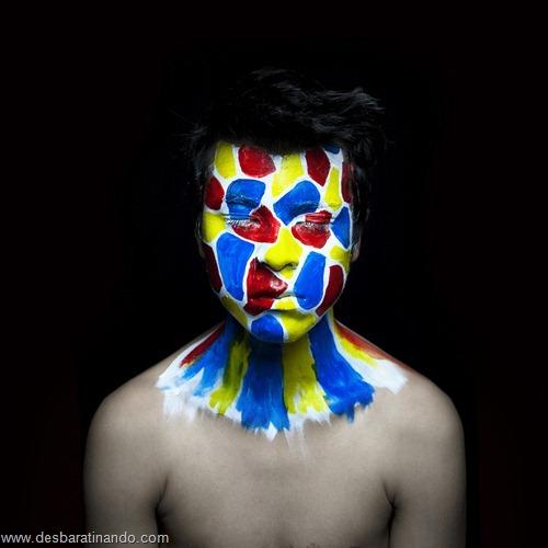 pintura de rosto desbaratinando (14)