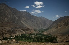 A view from a valley on the way from Gilgit to Chitral.<br /><br /><br />