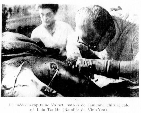 Dr Jean Valnet at Vinh-Yen.