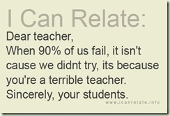 students failure
