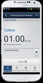 Samsung Smart Control älypuhelinsovellus