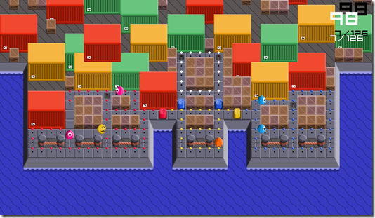 The Pac-Man free indie game (2)