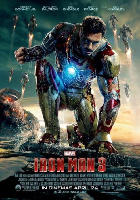 Iron Man 3 April 24, 2013