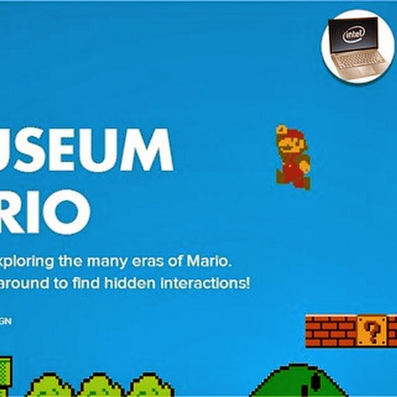 El museo de Mario, un espectacular sitio web dedicado a Mario Bros