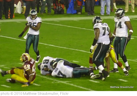 'Eagles vs Redskins 11/15/10' photo (c) 2010, Matthew Straubmuller - license: http://creativecommons.org/licenses/by/2.0/