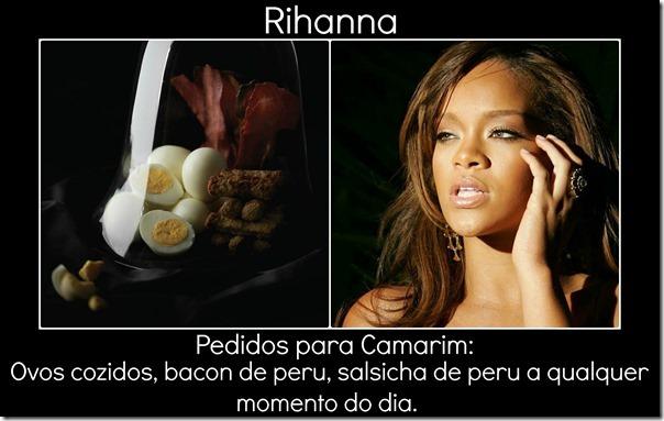 Rihanna e pedido