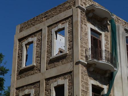 Obiective turistice Liban - imagini de pe linia verde Beirut.JPG
