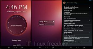 Ubuntu Lockscreen in Android