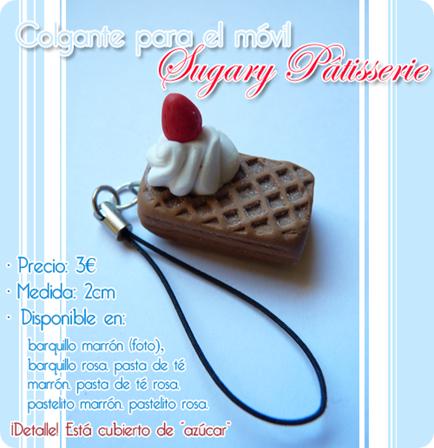 Febrero Colgante para móvil Sugary Pâtisserie