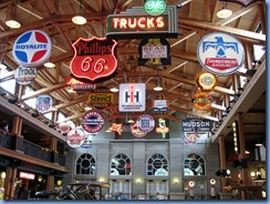 0942 Alberta Calgary - Heritage Park Historical Village - Gasoline Alley Museum - vintage signs