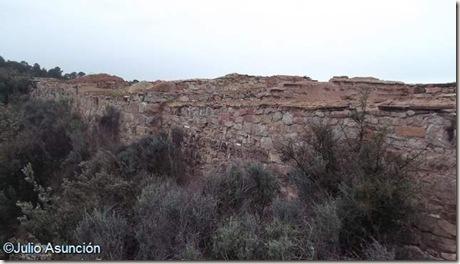 Castellet de Bernabé - Muralla