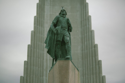 The 4p.m. ceremony was held at Hallgrimskirkja cathedral (http://hallgrimskirkja.is/), Iceland's largest church and Reykjavik's most popular tourist attraction.