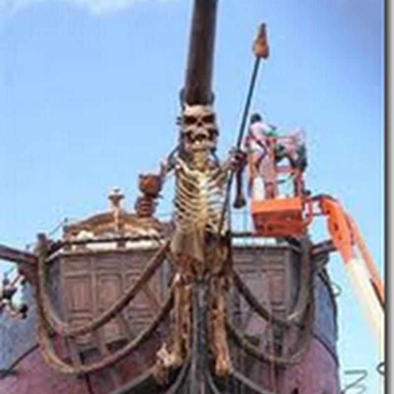 Sauh kapal Blackbeard's ditemui !