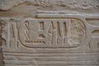 Hieroglyphs at Karnak Temple
