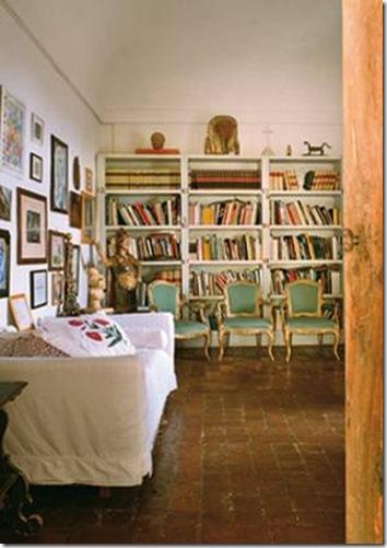 Sandro Chia house in Tuscany