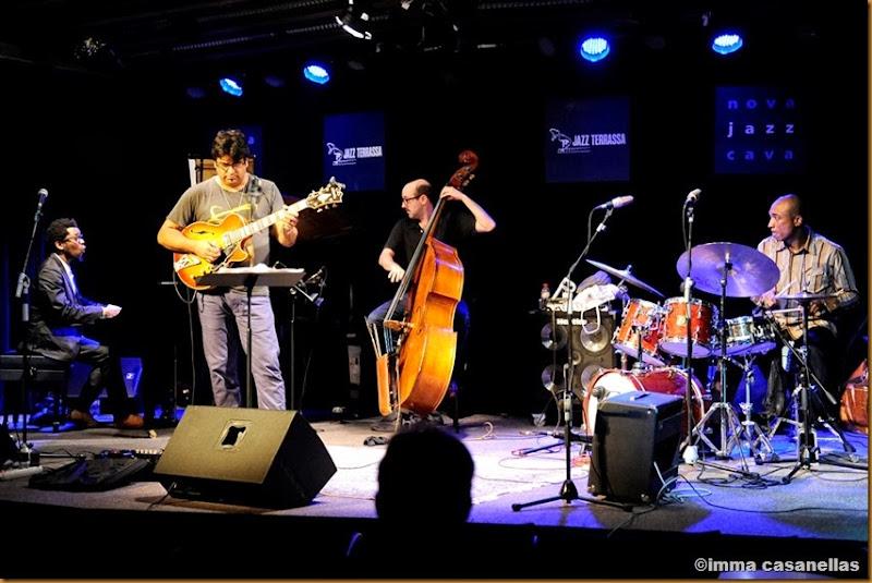 Aruán Ortiz Quartet, Nova Jazz Cava, Terrassa 2013