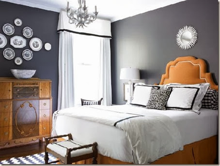 grey-bedroom-with-orange