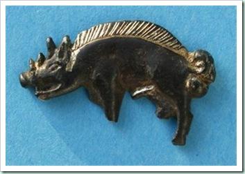 Boar-badge of bosworhtsite