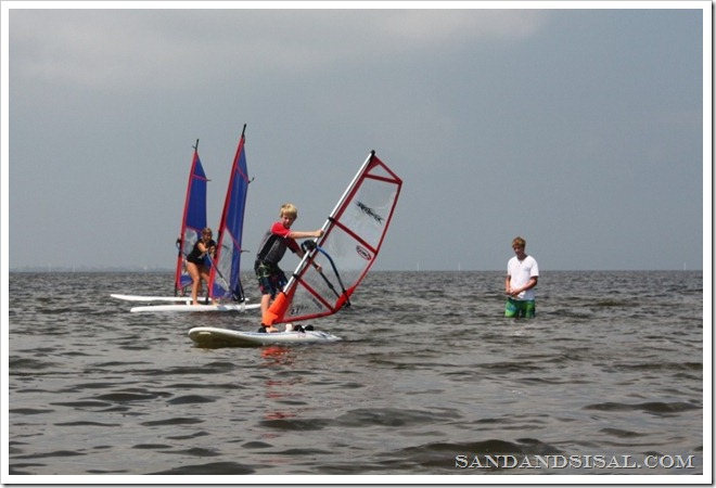Windsurfing Hatteras Island