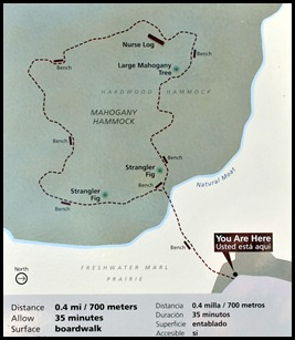 23a - Mahogany Hammock Trail Map