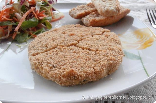 burgers pesce spada merluzzo nasello ceci senza uova non fritto cod swordfish chickpeas