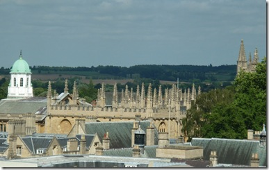 brasenose college from carfax tower