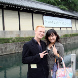 chie and matt in Kyoto, Kyoto, Japan
