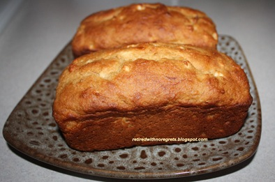 Banana Apple Bread - on display B