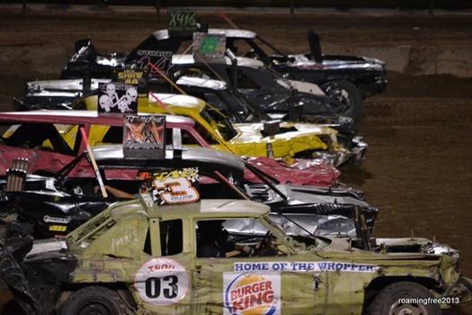 Derby cars!