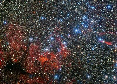 aglomerado estelar NGC 3590