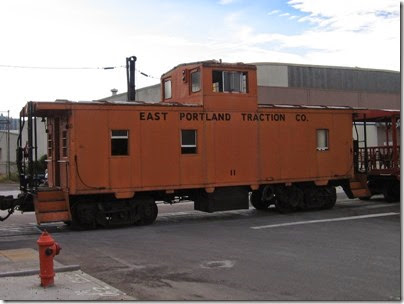 IMG_7512 East Portland Traction Company Caboose #11 at East Portland on July 13, 2007