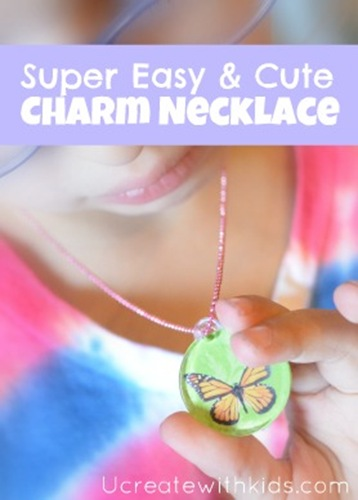 Super Easy & Cute Charm Necklace