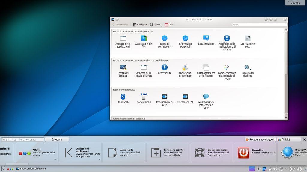 Nitrux icone KDE Plasma Next