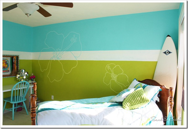 surfer girl room