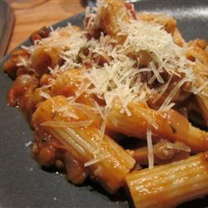 Sicilian Lentil Pasta Sauce